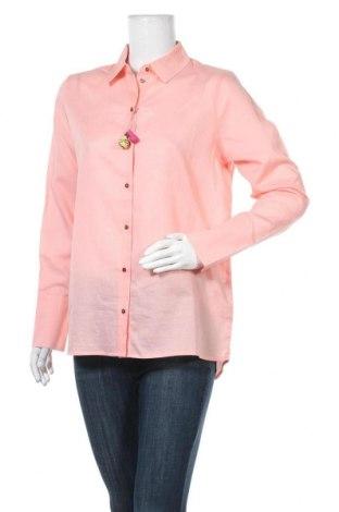 Dámská košile  Scotch & Soda, Velikost M, Barva Růžová, 65% bavlna, 35% len, Cena  1403,00Kč