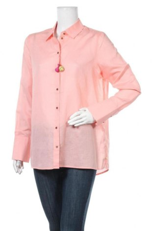 Γυναικείο πουκάμισο Scotch & Soda, Μέγεθος L, Χρώμα Ρόζ , 65% βαμβάκι, 35% λινό, Τιμή 49,87€