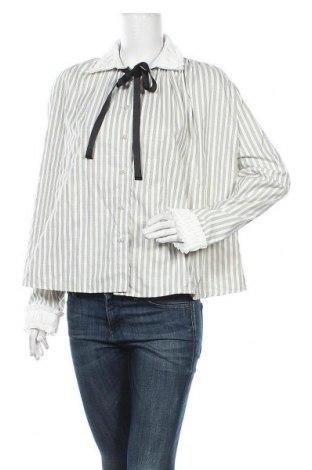 Γυναικείο πουκάμισο Sister Jane, Μέγεθος L, Χρώμα Λευκό, 30% βαμβάκι, 45% άλλα υφάσματα, 21% βισκόζη, 4% ελαστάνη, Τιμή 18,95€