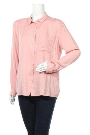 Дамска риза Someday., Размер M, Цвят Розов, 55% вискоза, 45% полиестер, Цена 16,96лв.