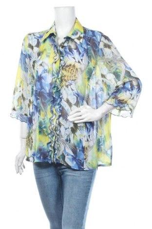 Дамска риза Sommermann, Размер XXL, Цвят Многоцветен, Полиестер, Цена 6,98лв.