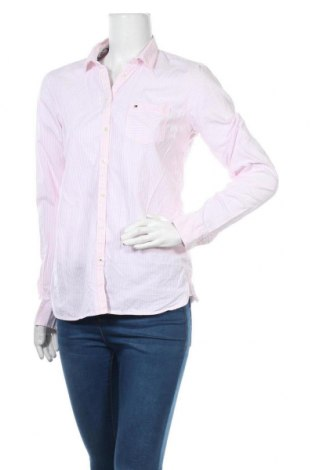 Γυναικείο πουκάμισο Tommy Hilfiger, Μέγεθος XS, Χρώμα Λευκό, Βαμβάκι, Τιμή 23,38€