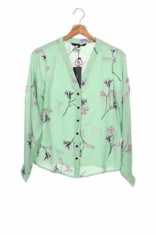 Γυναικείο πουκάμισο Vero Moda, Μέγεθος XS, Χρώμα Πράσινο, Πολυεστέρας, Τιμή 18,95€