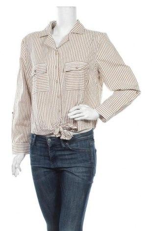 Дамска риза Violeta by Mango, Размер L, Цвят Бял, Памук, Цена 14,99лв.