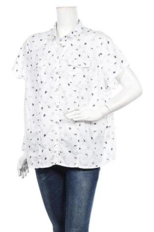 Дамска риза Yessica, Размер XXL, Цвят Бял, Памук, Цена 15,96лв.