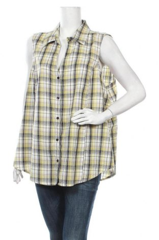 Дамска риза Zizzi, Размер 3XL, Цвят Многоцветен, Памук, Цена 16,07лв.