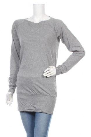 Дамска спортна блуза Active By Tchibo, Размер S, Цвят Сив, 50% памук, 50% вискоза, Цена 3,00лв.