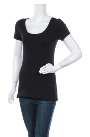 Γυναικείο t-shirt, Μέγεθος XS, Χρώμα Μαύρο, Τιμή 10,05€