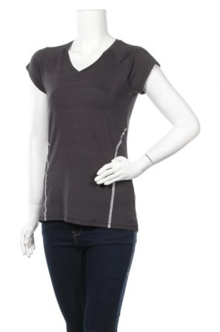 Дамска тениска Active By Tchibo, Размер S, Цвят Сив, 86% полиамид, 14% еластан, Цена 11,81лв.