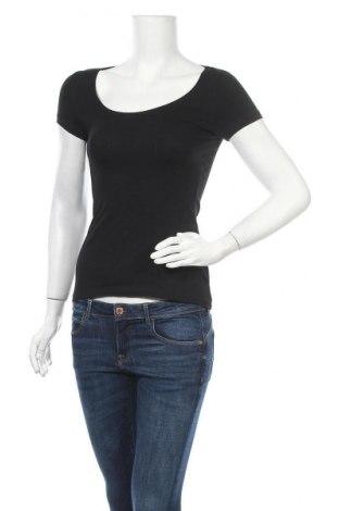 Γυναικείο t-shirt Anna Field, Μέγεθος XS, Χρώμα Μαύρο, 95% βαμβάκι, 5% ελαστάνη, Τιμή 10,82€