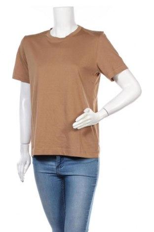 Γυναικείο t-shirt Arket, Μέγεθος M, Χρώμα  Μπέζ, Βαμβάκι, Τιμή 18,95€