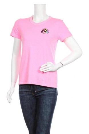 Γυναικείο t-shirt Edc By Esprit, Μέγεθος S, Χρώμα Ρόζ , 100% βαμβάκι, Τιμή 15,08€