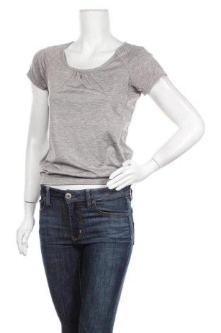 Дамска тениска H&M Sport, Размер XS, Цвят Сив, Полиестер, Цена 24,15лв.