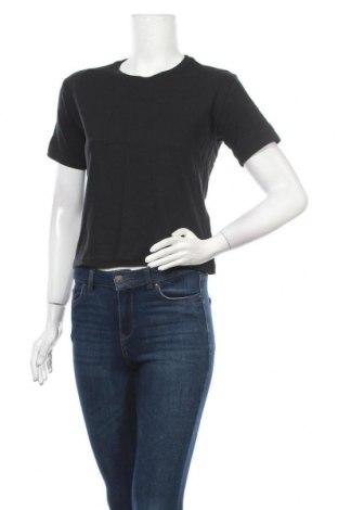 Γυναικείο t-shirt Hollister, Μέγεθος XS, Χρώμα Μαύρο, Βαμβάκι, Τιμή 8,66€