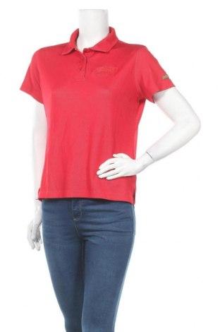 Дамска тениска Iguana, Размер S, Цвят Червен, 60% полиестер, 40% полиамид, Цена 12,50лв.