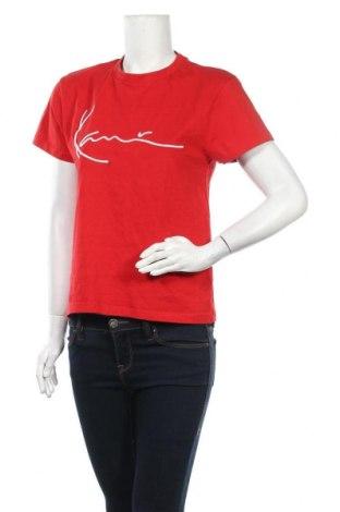 Γυναικείο t-shirt Karl Kani, Μέγεθος S, Χρώμα Κόκκινο, Βαμβάκι, Τιμή 17,78€