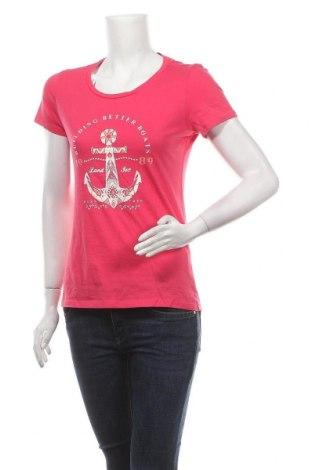 Дамска тениска Kenvelo, Размер M, Цвят Розов, 100% памук, Цена 8,40лв.