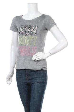 Дамска тениска Live Love Dream, Размер S, Цвят Сив, 100% полиестер, Цена 17,01лв.