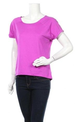 Дамска тениска New Balance, Размер XL, Цвят Лилав, 87% полиестер, 13% еластан, Цена 24,94лв.