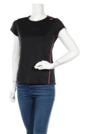 Дамска тениска New Balance, Размер M, Цвят Черен, Полиестер, Цена 25,20лв.