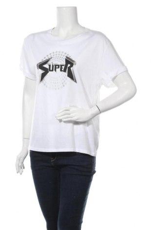 Γυναικείο t-shirt Opus, Μέγεθος S, Χρώμα Λευκό, 50% βαμβάκι, 50% μοντάλ, Τιμή 10,05€
