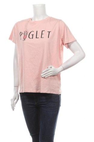 Дамска тениска Primark, Размер M, Цвят Розов, Памук, Цена 18,90лв.