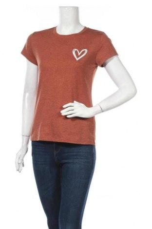 Дамска тениска SHEIN, Размер S, Цвят Оранжев, 60% полиестер, 35% памук, 5% еластан, Цена 16,80лв.