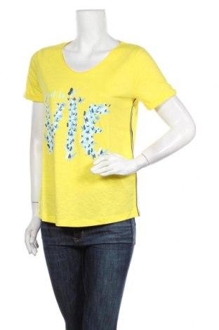 Γυναικείο t-shirt Street One, Μέγεθος M, Χρώμα Κίτρινο, 50% βαμβάκι, 50% μοντάλ, Τιμή 11,21€
