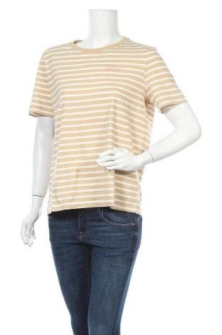 Γυναικείο t-shirt Tom Tailor, Μέγεθος L, Χρώμα  Μπέζ, Βαμβάκι, Τιμή 15,08€