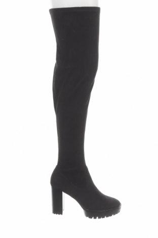 Γυναικείες μπότες Anna Field, Μέγεθος 41, Χρώμα Μαύρο, Κλωστοϋφαντουργικά προϊόντα, Τιμή 28,38€