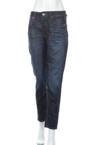 Дамски дънки American Eagle, Размер L, Цвят Син, 89% памук, 11% полиестер, Цена 28,35лв.