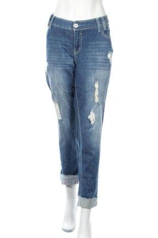 Γυναικείο Τζίν Ariya Jeans, Μέγεθος XXL, Χρώμα Μπλέ, 99% βαμβάκι, 1% ελαστάνη, Τιμή 18,19€