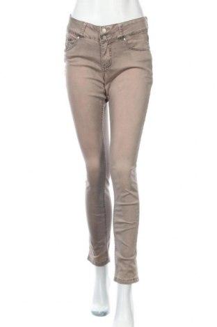 Дамски дънки Buena Vista, Размер S, Цвят Бежов, 98% памук, 2% еластан, Цена 20,79лв.