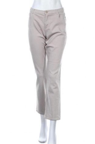Γυναικείο Τζίν Charles Vogele, Μέγεθος L, Χρώμα  Μπέζ, 98% βαμβάκι, 2% ελαστάνη, Τιμή 12,96€