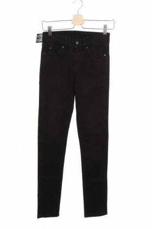 Дамски дънки Cheap Monday, Размер XS, Цвят Черен, 98% памук, 2% еластан, Цена 34,50лв.