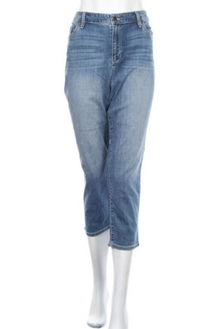 Дамски дънки Chico's, Размер L, Цвят Син, 76% памук, 22% полиестер, 2% еластан, Цена 99,75лв.