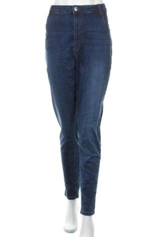 Γυναικείο Τζίν Cotton On, Μέγεθος XXL, Χρώμα Μπλέ, 81% βαμβάκι, 18% πολυεστέρας, 1% ελαστάνη, Τιμή 14,94€