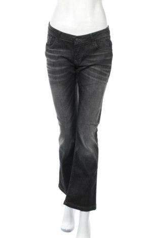 Дамски дънки Cross Jeans, Размер L, Цвят Сив, 99% памук, 1% еластан, Цена 41,90лв.
