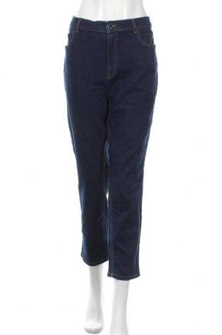 Дамски дънки Days Like This, Размер XL, Цвят Син, 99% памук, 1% еластан, Цена 27,30лв.