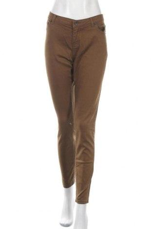 Дамски дънки Didi, Размер M, Цвят Кафяв, 82% памук, 16% полиестер, 2% еластан, Цена 19,64лв.