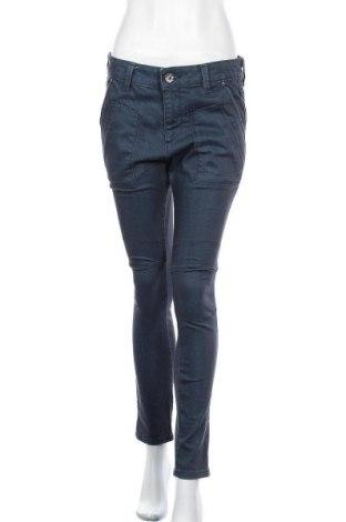 Дамски дънки Edc By Esprit, Размер M, Цвят Син, 98% памук, 2% еластан, Цена 29,40лв.
