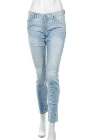 Дамски дънки Edc By Esprit, Размер L, Цвят Син, 98% памук, 2% еластан, Цена 31,92лв.