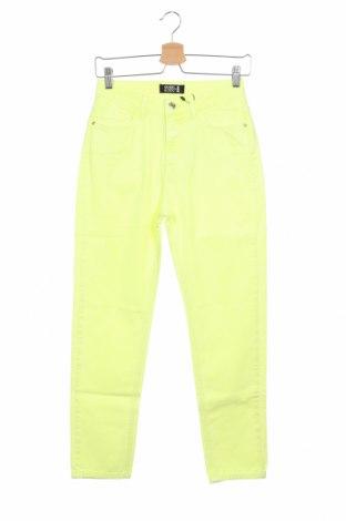 Дамски дънки Even&Odd, Размер XS, Цвят Зелен, Памук, Цена 20,72лв.