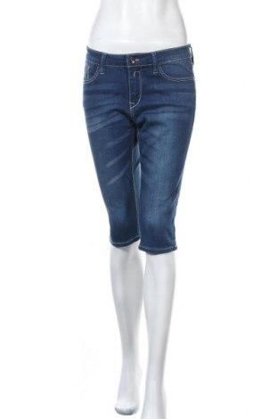 Дамски дънки Free Quent, Размер M, Цвят Син, 64% памук, 34% модал, 2% еластан, Цена 27,93лв.