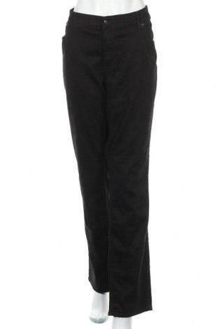 Дамски дънки H&M, Размер 3XL, Цвят Черен, 98% памук, 2% еластан, Цена 26,25лв.