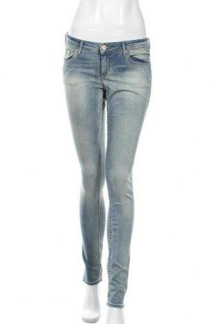Дамски дънки H&M, Размер L, Цвят Син, Цена 25,94лв.