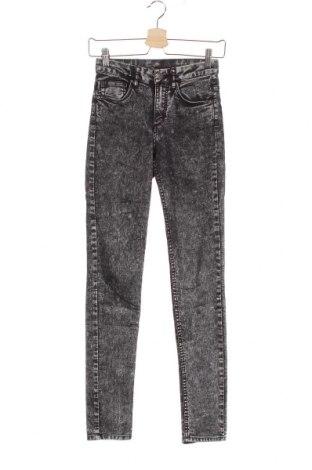 Дамски дънки H&M Divided, Размер XS, Цвят Сив, Цена 23,10лв.
