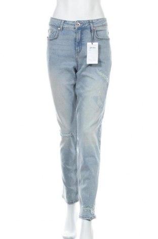 Дамски дънки Henry I. Siegel, Размер L, Цвят Син, 85% памук, 13% полиестер, 2% еластан, Цена 30,87лв.
