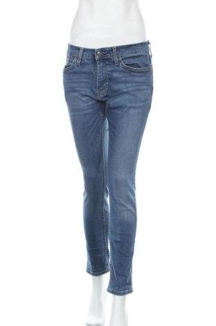 Γυναικείο Τζίν Hollister, Μέγεθος M, Χρώμα Μπλέ, 95% βαμβάκι, 4% πολυεστέρας, 1% ελαστάνη, Τιμή 16,37€