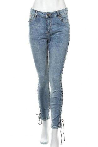 Dámské džíny  Janina, Velikost L, Barva Modrá, 99% bavlna, 1% elastan, Cena  414,00Kč